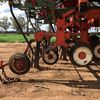 Ground Hound seeder with Simplicity Air Seeder Box