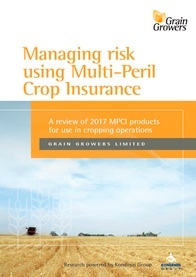Raising awareness on Multi-Peril Crop Insurance