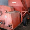 ALLBULK feed mixer, with hammer mill choppers.