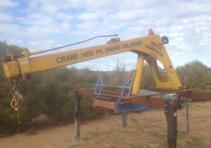 Fixed jib crane