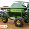John Deere 777 Seeder Cart