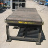 Heavy Duty Roller Table approx 2700mm x 1200mm x 920mm