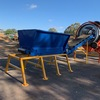 Under Auction - IN FEED HOPPER - 4 cubic metre capacity with Belt Feed Conveyor