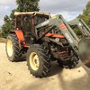 SAME EXPLORER 90 TRACTOR WITH FRONT END LOADER