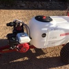 Croplands 300 Litre trailed sprayer with Vertiboom. Honda driven motor. As new, never used.