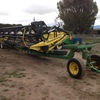 Honey Bee WS-25 Windrower Front and Trailer, 2011.