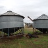 2 x 27 tonne Keogh PTO transportable silos