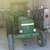 John Deere 4010 Tractor with Goldacres 450L / 8m Boomspray