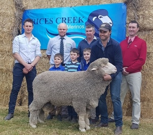 Rices Creek kicks off the Ram selling season in style