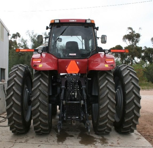 case mx245 magnum tractor with linkage pto machinery. Black Bedroom Furniture Sets. Home Design Ideas