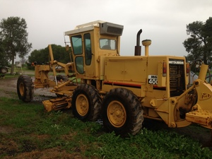 MITSUBISHI MG400 Grader For Sale - No GST applies to this Sale $47,500.00 No Gst