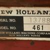 New Holland 461 Haybine