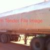 Aluminium Tri Axle Tipper.