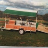 Hecton sheep handling/crutching trailer