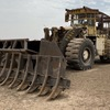 Under Auction - 1985 Caterpillar 988B Wheel Loader with 24 foot stick rake - 2% + GST Buyers Premium On All Lots