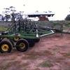 John Deere 1610 chisel plough set up as a disc seeder