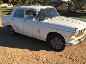 Peugeot 404, Approximately 1960's mdl. Collectors Item.