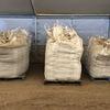 Composted pig manure pellets