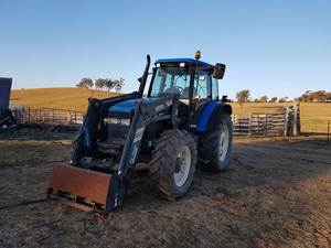 New Holland TM120 FWA Tractor