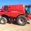 2009 Case IH 9120 Axial Flow Combine Harvester with 40ft MacDon D60 Draper Front