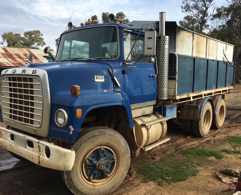 Ford Lnt 9000 Rigid Tipper Truck For Sale Trucks