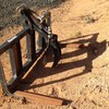 Burder heavy duty forks with log grab