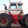 Case 4894 Tractor Set up for Silage