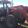 1998 Case 5150 Maxxum with Challenge Quickhitch FEL