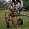 Truck small square bale loader