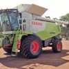 Claas 750 Lexion and Vario front
