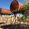 500 Gallon (2250L) overhead fuel tanks X 2