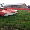Kuhn FC 4000 RG centre pull Moco. Rubber diamond rollers
