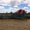 "2005 50' Auseeder DBS 49-300 Series Seeder Bar fitted on ""A"" frame with A6000 Multistream Seed/Super Bins"