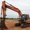 Hitachi ZX160lc. Excavator