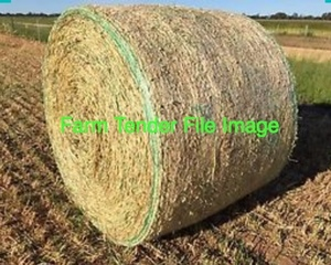 Oaten Hay 5x4 Round Bales