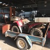 Kawasaki 360 workhorse and trailer