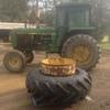 John Deere 4240 Tractor with duals