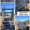 ADJUSTABLE CATTLE RAMP