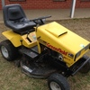 Greenfield Ride on Mower in good condition