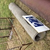 Under Auction (A129) - 8 Ft x 15 inches Concrete Pipe - 2% + GST Buyers Premium On All Lots