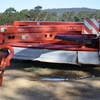 KUHN FC352RG 3.5m cut, Rubber Roller, Pivoting Headstock