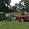 Small Round Mower - Rake - Baler & Trailer For Sale