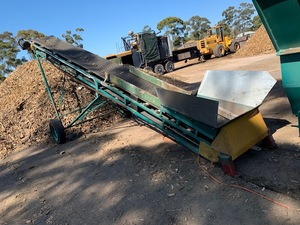 Under Auction - ELEVATOR - 8 metre x 800 wide Troughed Elevator - 2% Buyers Premium On All Lots