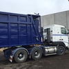 Volvo Prime Mover with Compactor Trailer
