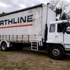 94 Mitshbishi 557 D16T Curtin sider Truck For Sale