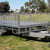 20x8 ft Flat Top Trailer