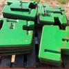 14 x John Deere Suitcase Weights