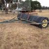 tyre roller 17ft, tow behind combine