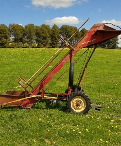 Hay Tractor With Loader : New holland bale loader machinery equipment hay and