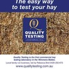 Quality Testing - For all your Hay Testing Needs